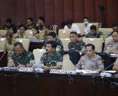 Berita Foto: Panglima TNI Ikuti Raker Komite I DPD RI