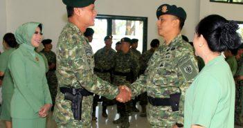 Pangdivif 2 Kostrad Pimpin Upacara Sertijab Pejabat Divif 2 Kostrad