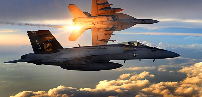 Super Hornet US Navy Jatuh di Death Valley National Park