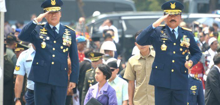 Panglima TNI Hadiri Pemakaman Prof BJ Habibie